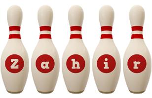 Zahir bowling-pin logo