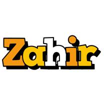 Zahir cartoon logo