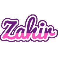 Zahir cheerful logo