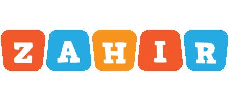 Zahir comics logo