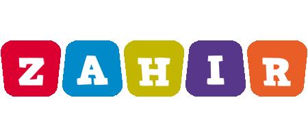 Zahir daycare logo
