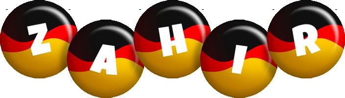 Zahir german logo