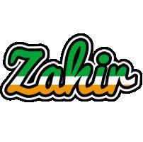 Zahir ireland logo