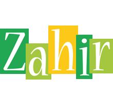 Zahir lemonade logo
