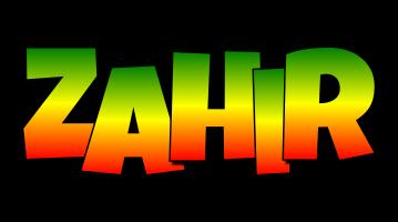 Zahir mango logo