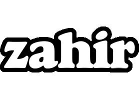 Zahir panda logo