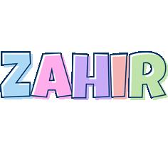 Zahir pastel logo