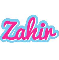 Zahir popstar logo