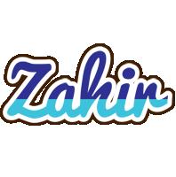 Zahir raining logo