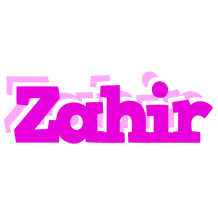 Zahir rumba logo
