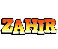 Zahir sunset logo