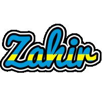 Zahir sweden logo
