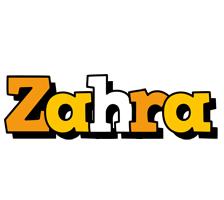 Zahra cartoon logo