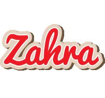 Zahra chocolate logo