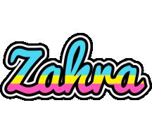Zahra circus logo