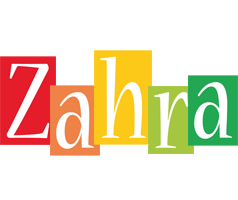 Zahra colors logo