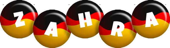 Zahra german logo