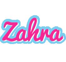 Zahra popstar logo