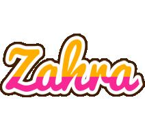 Zahra smoothie logo