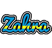 Zahra sweden logo