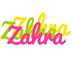 Zahra sweets logo