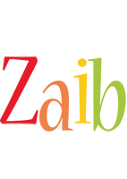 Zaib birthday logo