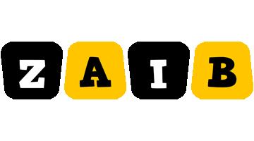 Zaib boots logo