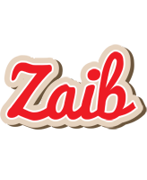 Zaib chocolate logo