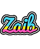 Zaib circus logo