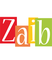 Zaib colors logo