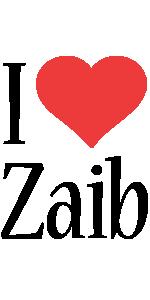 Zaib i-love logo