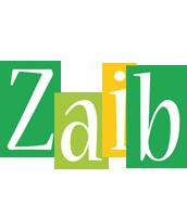 Zaib lemonade logo