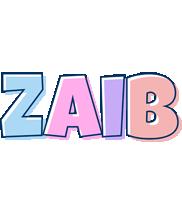 Zaib pastel logo