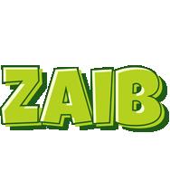 Zaib summer logo