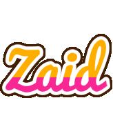 Zaid smoothie logo