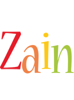 Zain birthday logo