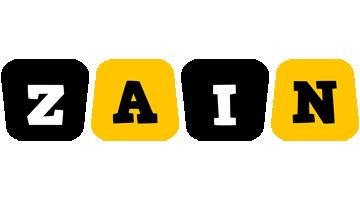 Zain boots logo