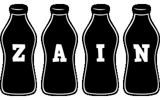 Zain bottle logo
