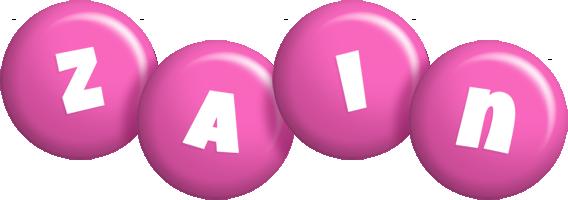 Zain candy-pink logo