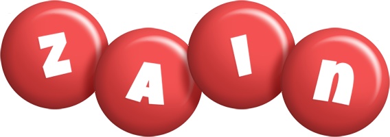 Zain candy-red logo