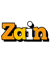 Zain cartoon logo
