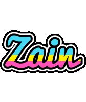 Zain circus logo