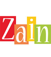 Zain colors logo