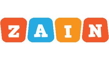 Zain comics logo
