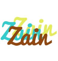 Zain cupcake logo