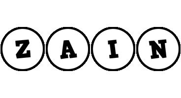Zain handy logo
