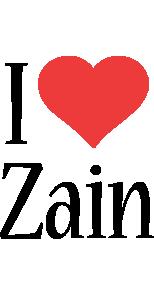 Zain i-love logo