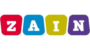 Zain kiddo logo