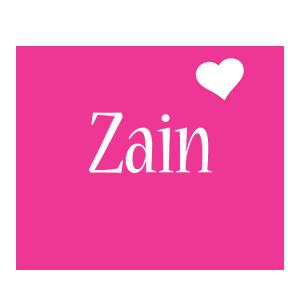 Zain love-heart logo