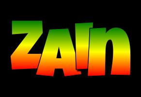Zain mango logo